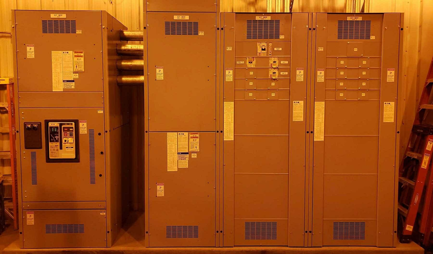 "INSS Panel ""P"" Arc Flash Reductions"
